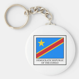 Democratic Republic of the Congo Keychain