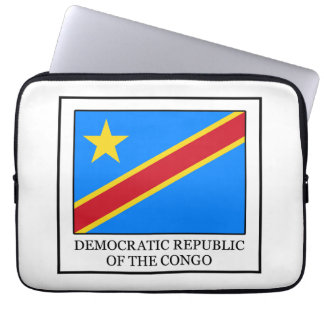 Democratic Republic of the Congo Laptop Sleeve