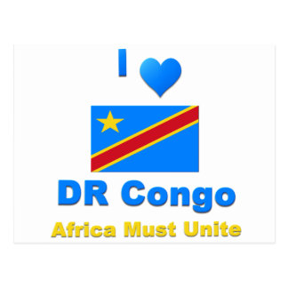 Democratic Republic of the Congo Postcard