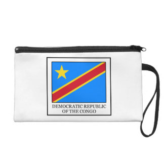 Democratic Republic of the Congo Wristlet Purse