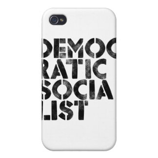Democratic Socialist Cover For iPhone 4