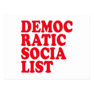 Democratic Socialist Postcard