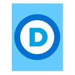 Democratic Tarjeta Postal