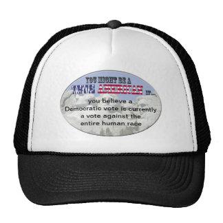 democratic vote trucker hat