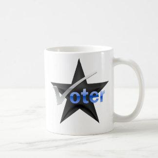 Democratic voter coffee mug