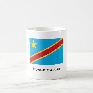 democrático-república-de--Congo-bandera, Congo 50… Taza