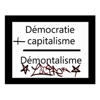 démocratie más postales