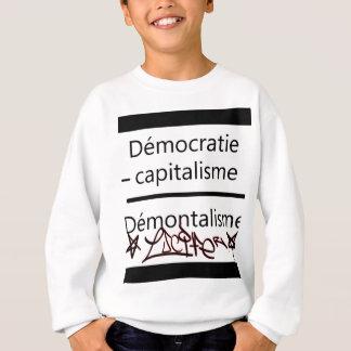 démocratie plus sweatshirt