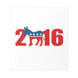 DEMOCRATS 2016 png Memo Pads