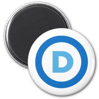Democrats 2 Inch Round Magnet