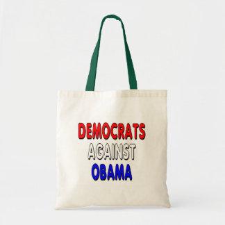 Democrats against Obama Tote Bags