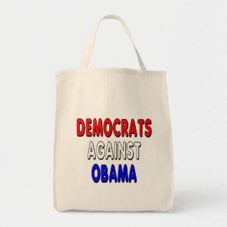 Democrats against Obama Tote Bag