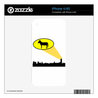 Democrats and Hillary your country needs you iPhone 4 Skins