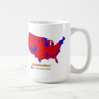 Democrats are Low Information Voters Classic White Coffee Mug