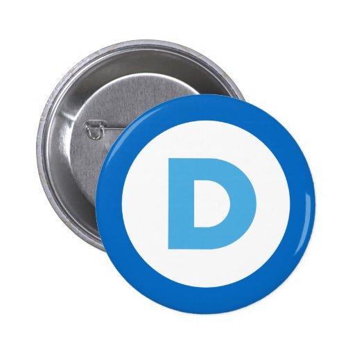 Democrats Pinback Buttons