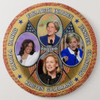 Democrats for President in 2016 Button