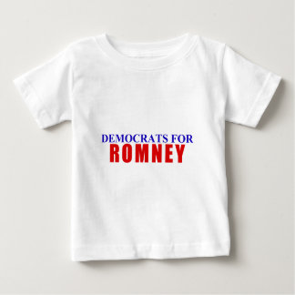 Democrats for Romney Baby T-Shirt