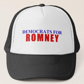 Democrats for Romney Trucker Hat