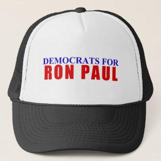 Democrats for Ron Paul Trucker Hat