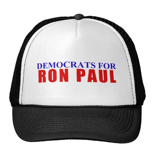 Democrats for Ron Paul Trucker Hat