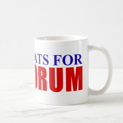 Democrats for Santorum Coffee Mug