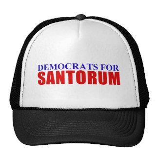 Democrats for Santorum Trucker Hat