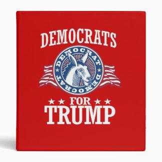 DEMOCRATS FOR TRUMP BINDER