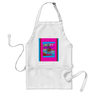 Democrats Hillary For USA President We are Stronge Adult Apron