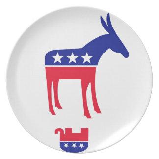 Democrats Plate