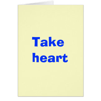 Democrats take heart - we'll be ready next time card