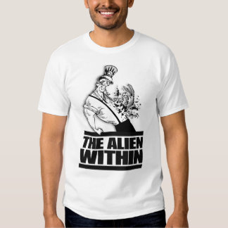 Democrats: The Alien Within T-shirt