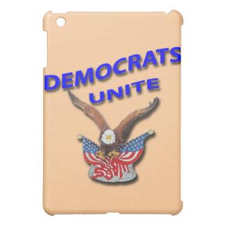 Democrats Unite blue iPad Mini Covers