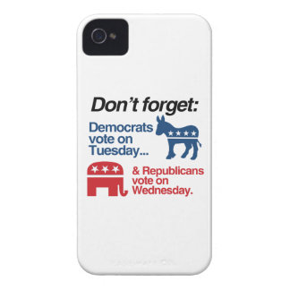 DEMOCRATS VOTE ON TUESDAY REPUBLICANS VOTE ON WEDN iPhone 4 CASES