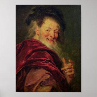 Democritus  1692 poster