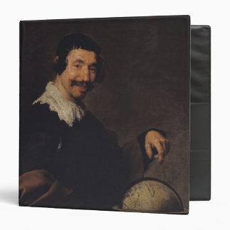 """Democritus, o el hombre con un globo carpeta 1 1/2"""""""