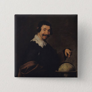 Democritus, or The Man with a Globe Button