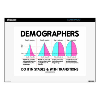Demographers Do It In Stages & With Transitions Decals For Laptops