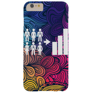 Demographics Pictograph Barely There iPhone 6 Plus Case