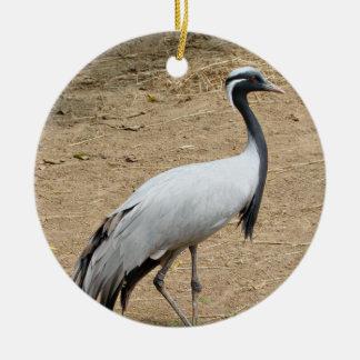 Demoiselle Crane Ornament