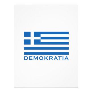 "Demokratia Folleto 8.5"" X 11"""