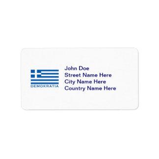Demokratia Label