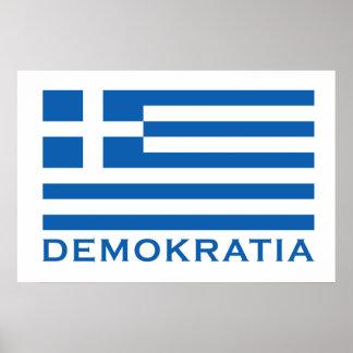 Demokratia Poster