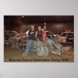 Demolición Derby 2009 del condado de Monroe Impresiones