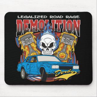 Demolición Derby Alfombrilla De Ratones