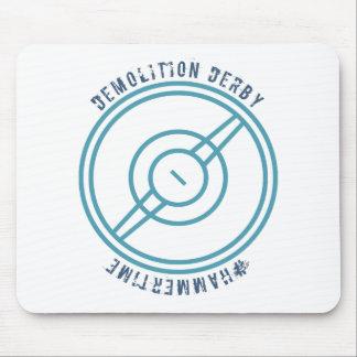 Demolición Derby - estación azul Tapetes De Raton