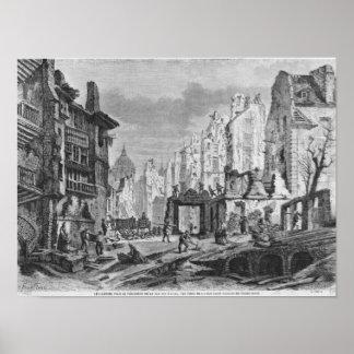 Demoliciones para el edificio de DES Ecoles de la  Póster