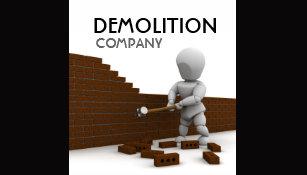 Demolition business cards templates zazzle demolition business card colourmoves