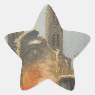 Démolition de l'église Saint-Jean-en-Grève - Musée Star Sticker