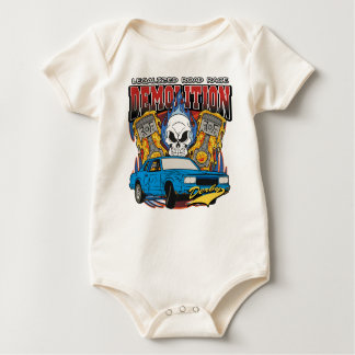 Demolition Derby Baby Bodysuit