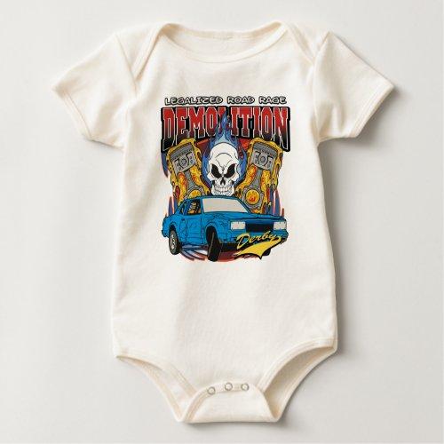 Demolition Derby Baby Bodysuit